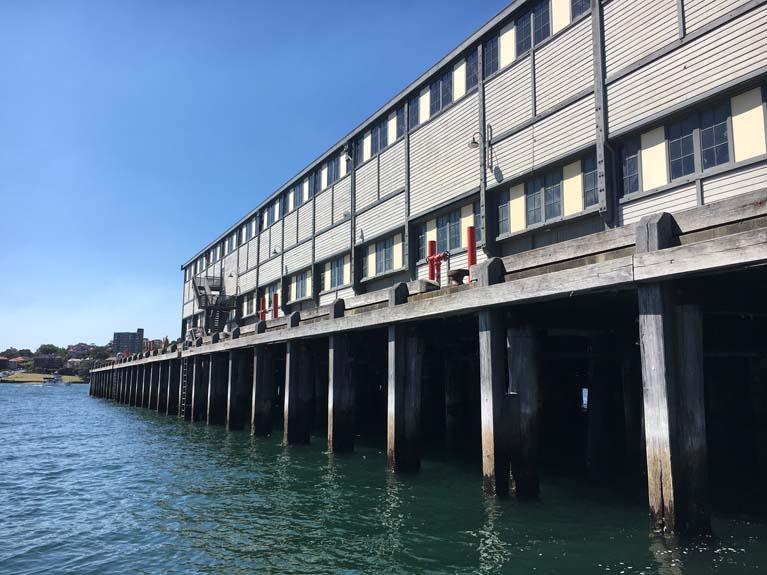 Walsh bay wharf