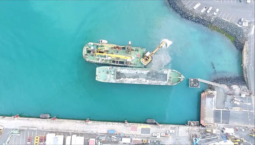 Tasports Bernie Port Berth 4 dredging