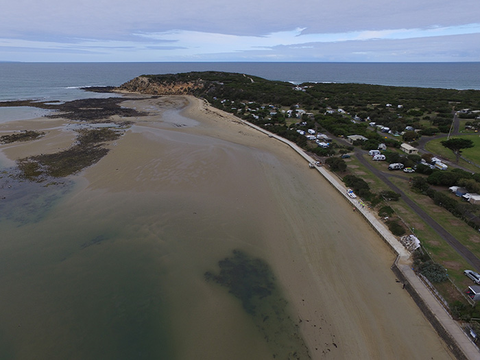 Barwon heads timber seawall