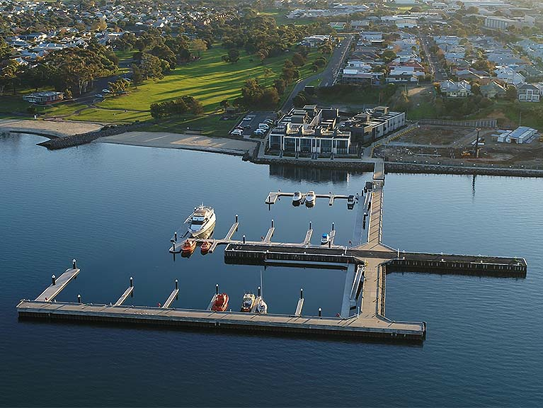Balmoral quay marina design