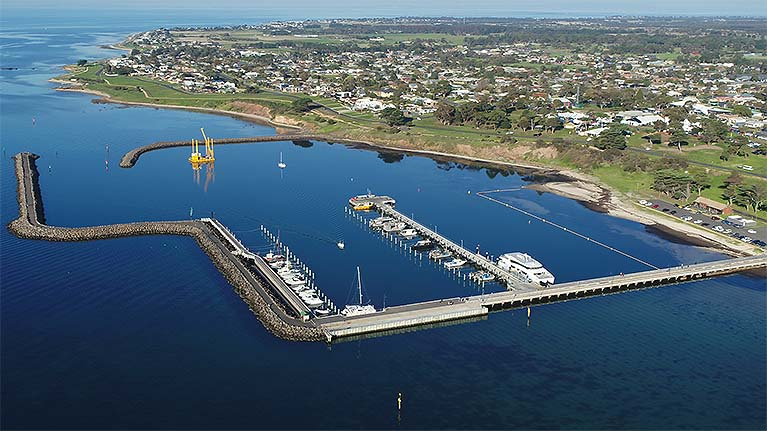 Portarlington harbour design