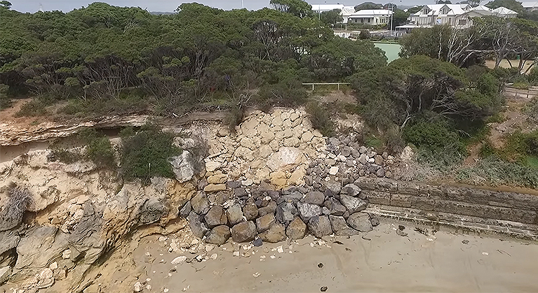 Point Lonsdale foreshore protection