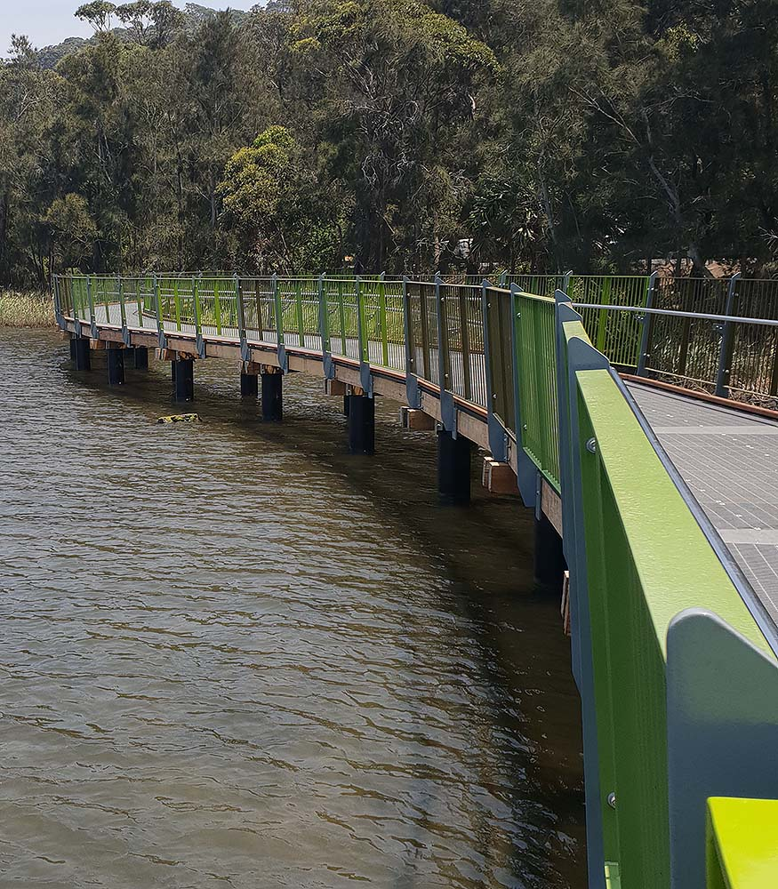 Narrabeen pedestrian and cycle trail