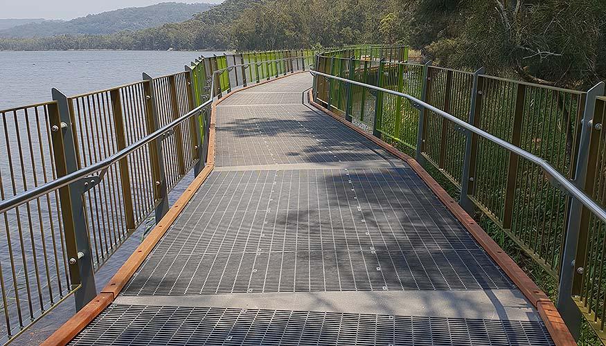 Narrabeen pedestrian trail