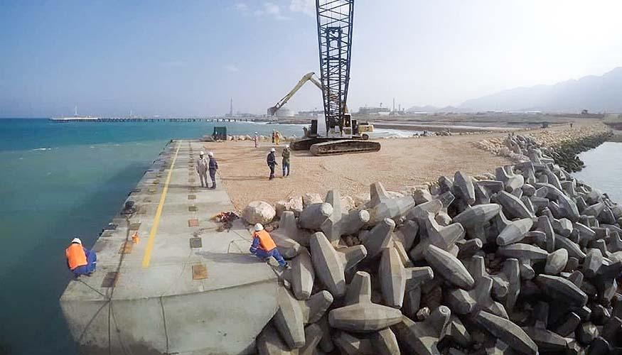 Oman LNG Wharf Offload facility
