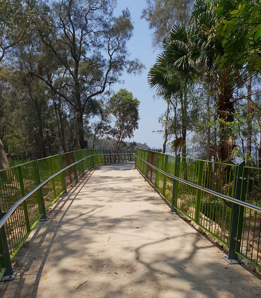 Path leading to Narrabeen pedestrian trail