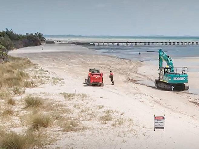 Rosebud West beach renourishment