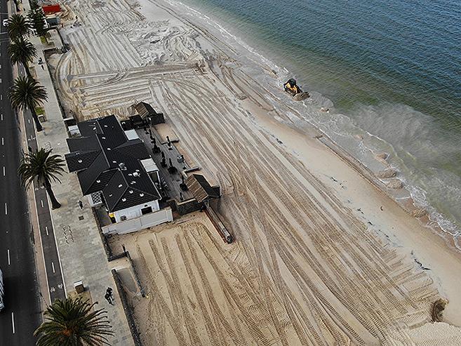 Detailed design of middle park beach renourishment