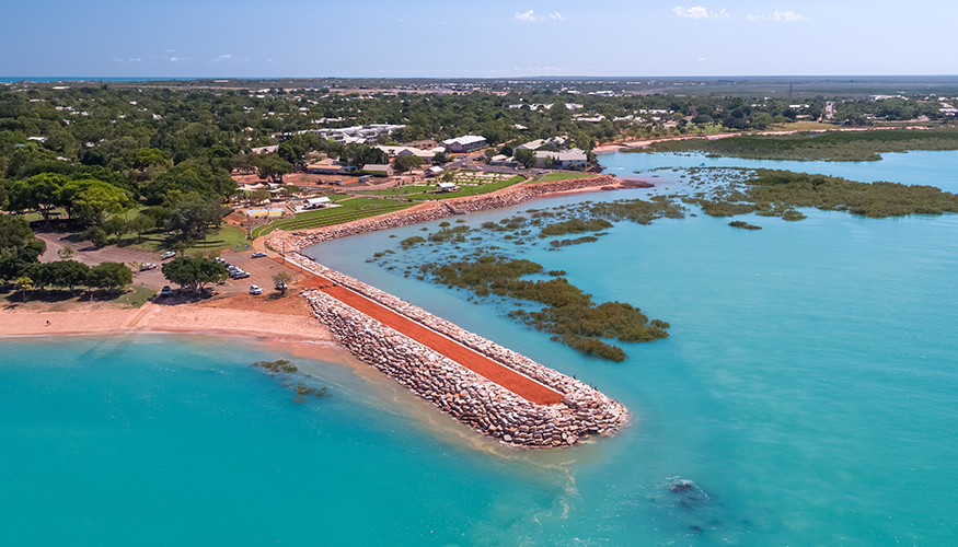 Broome Town Beach Jetty project