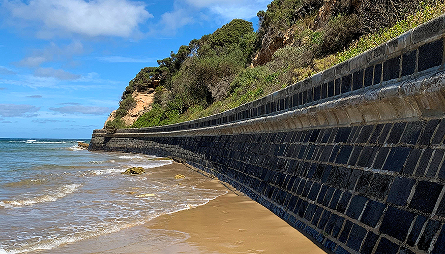 Condition Inspection of Coastal Protection Structures